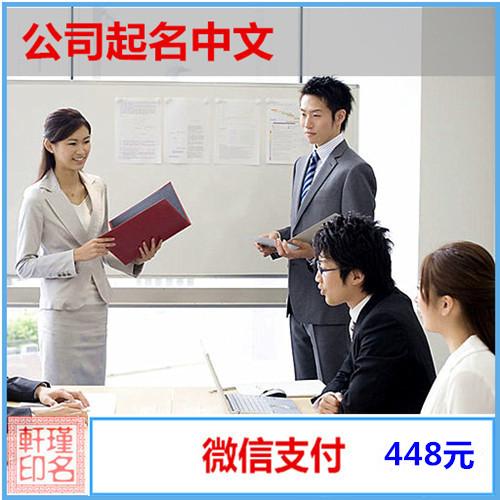 公司起名中文 企业产品注册商标取名大师 满意为止 瑾名轩起名网